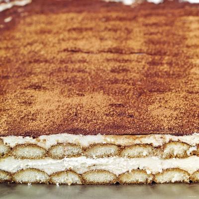 Tiramisu (Layered Dessert with Mascarpone Cream, Italy)--Photographic Print
