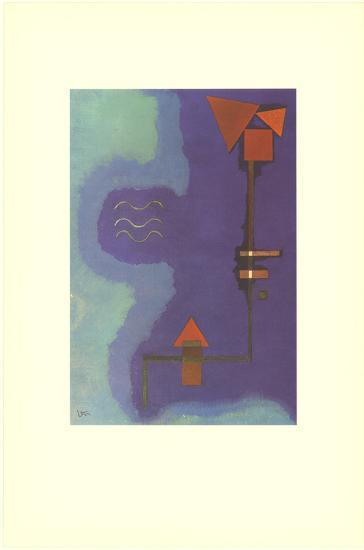Tirant Sur Le Violet-Wassily Kandinsky-Collectable Print