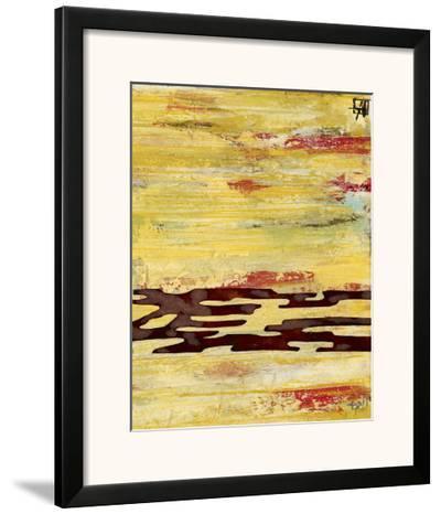Tire Mark II-Natalie Avondet-Framed Art Print