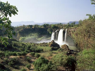 Tis Abay Waterfall on the Blue Nile, Ethiopia, Africa-Julia Bayne-Photographic Print
