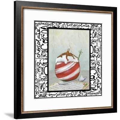 Tis the Season for Cocoa II-Diannart-Framed Art Print