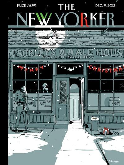 `Tis the Season - The New Yorker Cover, December 9, 2013-Istvan Banyai-Premium Giclee Print