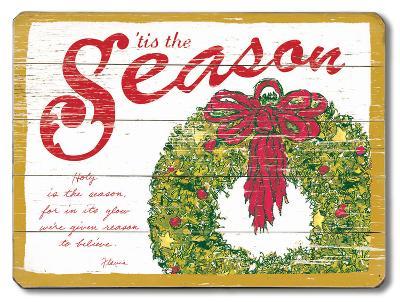 Tis the Season--Wood Sign