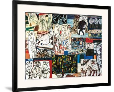 Tissu d'Episode, 1976-Jean Dubuffet-Framed Art Print