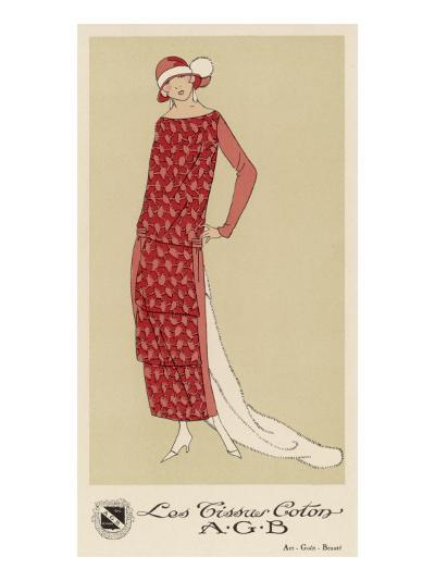 Tissus Dress by Agb--Giclee Print