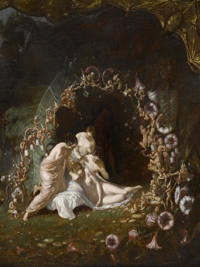 Titania endormie-Richard Dadd-Giclee Print
