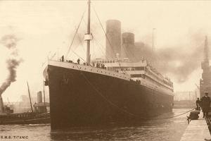 Titanic at the Dock