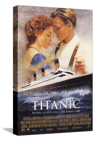 Titanic--Stretched Canvas Print
