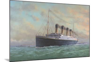 Titanic-Edward Walker-Mounted Print