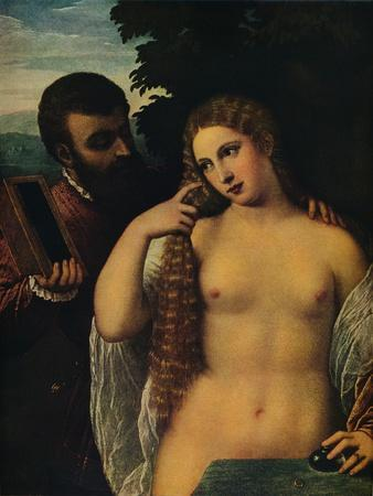 'Allegory (Alfonso d'Este and Laura Dianti?)', 16th century