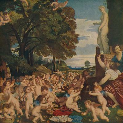 'La Fiesta De Venus', (The Worship of Venus), 1518-1519, (c1934)