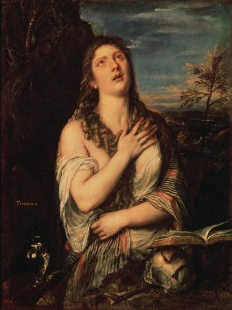 Repentant Mary Magdalene, 1560s