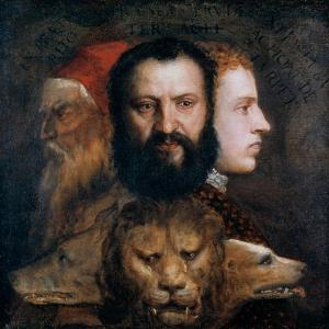 Allegory of Prudence, C1565-1570 by Titian (Tiziano Vecelli)