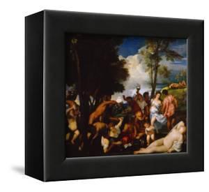 Bacchanal by Titian (Tiziano Vecelli)