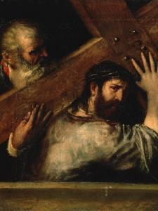 Christ Carrying the Cross, 1560S by Titian (Tiziano Vecelli)