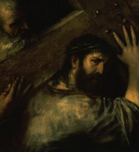 Christ Carrying the Cross by Titian (Tiziano Vecelli)