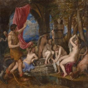 Diana and Actaeon, 1556-1559 by Titian (Tiziano Vecelli)