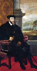 Emperor Charles V (Karl V), 1548 by Titian (Tiziano Vecelli)