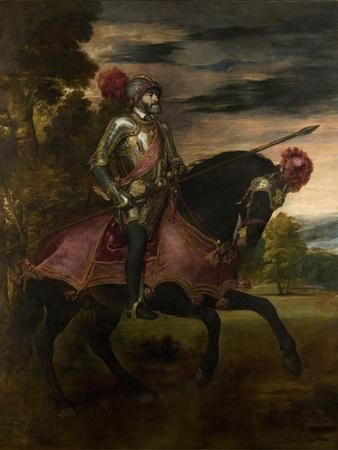 Equestrian Portrait of Charles V of Spain (1500-155), 1548