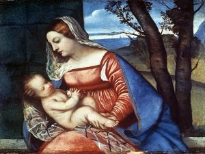 Madonna and Child, C1510 by Titian (Tiziano Vecelli)