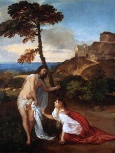 Noli Me Tangere, C1514 by Titian (Tiziano Vecelli)