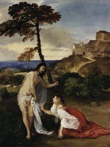 Noli Me Tangere by Titian (Tiziano Vecelli)