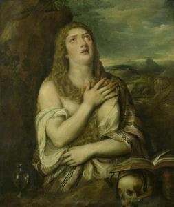Penitent Mary Magdalene, C. 1550-80 by Titian (Tiziano Vecelli)