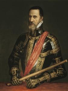Portrait of the Duke of Alva by Titian (Tiziano Vecelli)