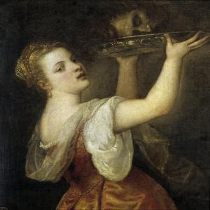 Salome with the Head of John the Baptist by Titian (Tiziano Vecelli)