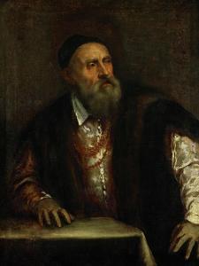 Self-Portrait, 1562 by Titian (Tiziano Vecelli)