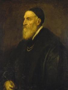 Self Portrait, 1568-1571 by Titian (Tiziano Vecelli)