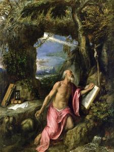 St. Jerome by Titian (Tiziano Vecelli)