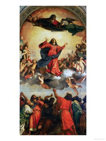 The Assumption of the Virgin, 1516-18
