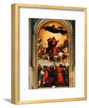 The Assumption of the Virgin, 1516-18
