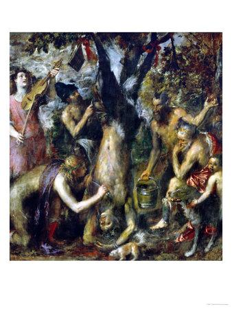 The Flaying of Marsyas, 1570-1575