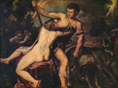 'Venus and Adonis', 1560