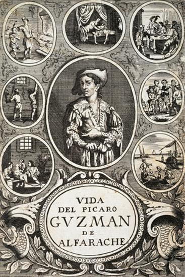 title page for 1681 edition of life and adventures of guzman d alfarache or spanish rogue novel giclee print mateo aleman art com art com