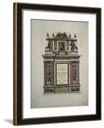 Title Page of the Atlas Nouveau Contenant Toutes Les Parties Du Monde--Framed Giclee Print