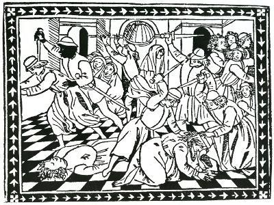 """Title Page, Taken from """"Lamento Del Duca Galeazzo Sforza"""" by Giovanni Andrea De Lampugno, 1476--Giclee Print"""