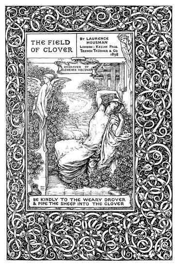 Title Page to the Field of Clover, 1899-Clemence Housman-Giclee Print
