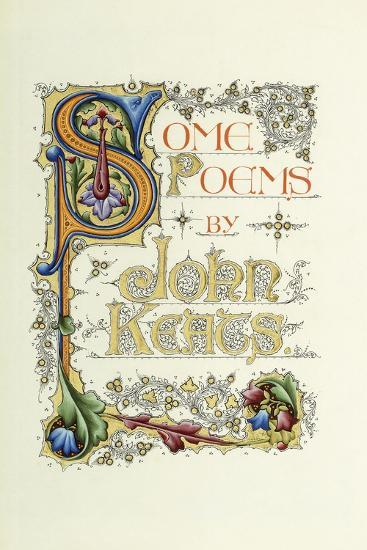 Title Page--Giclee Print