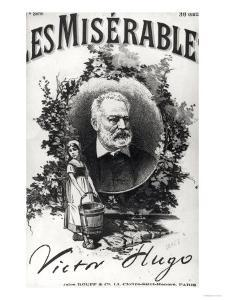 """Titlepage of the First Edition of """"Les Miserables"""" by Victor Hugo (1802-85)"""