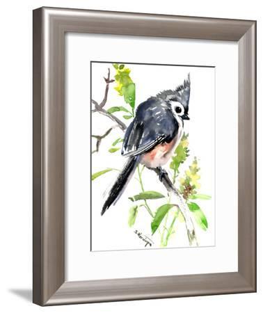 Titmouse Bird-Suren Nersisyan-Framed Art Print