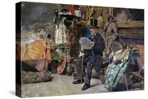 Antiquarian, 1892-1893 by Tito Lessi