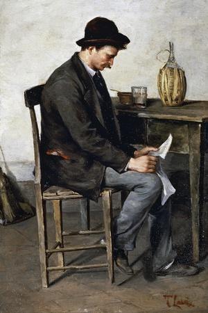 Reading Alone, 1878-1880