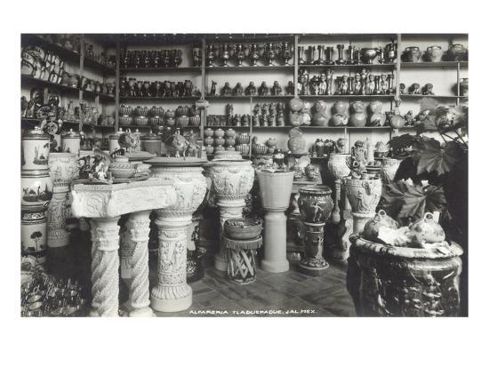 Tlaquepaque Arts and Crafts Market--Art Print
