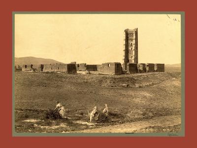 Tlemcen Enclosure Mansoura, Algiers-Etienne & Louis Antonin Neurdein-Giclee Print