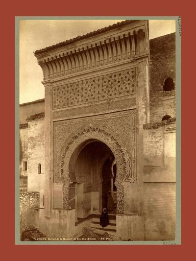 Tlemcen, Portal of the Mosque of Sidi Bou Medina, Algiers-Etienne & Louis Antonin Neurdein-Giclee Print