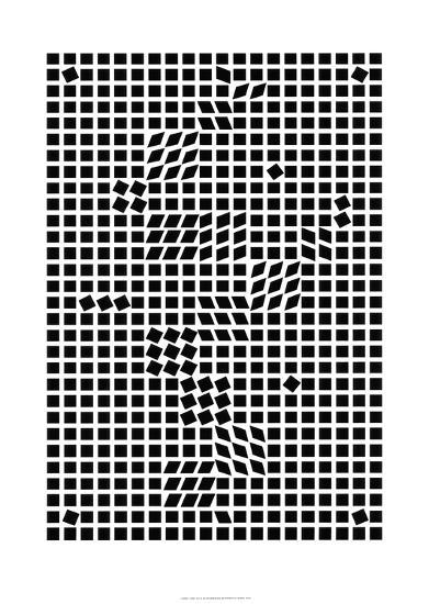 Tlinko, c.1955-Victor Vasarely-Serigraph