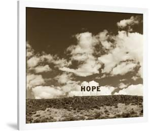 Hope Sign by TM Photography